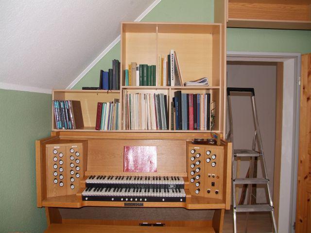 Schweiky\'s kleine Heimseite - Hauptwerk-Orgel